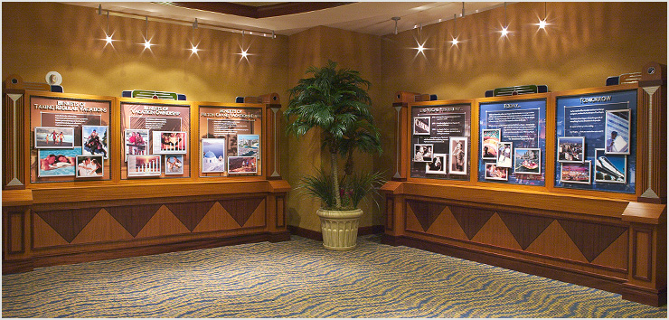 Hilton Grand Vacations Club Display Design