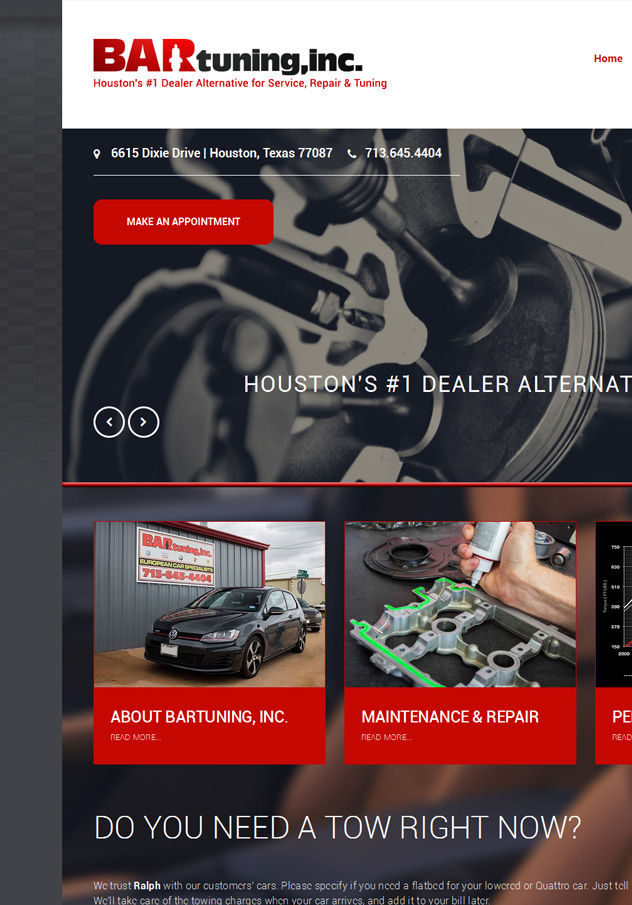 BARtuning Website