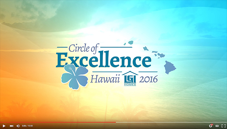 LGI Homes Circle of Excellence 2016