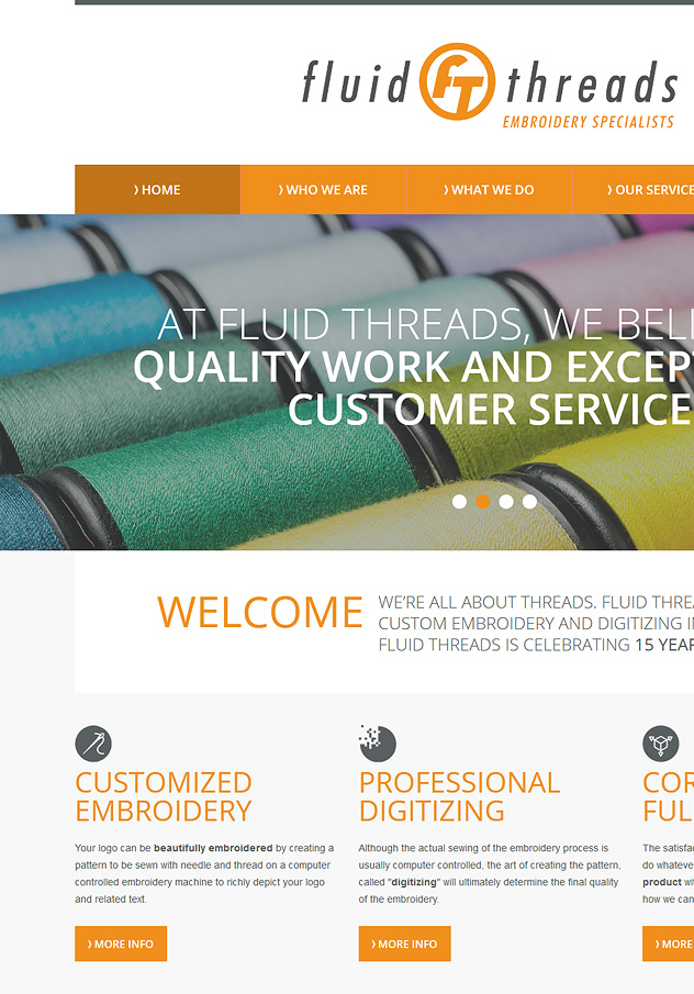 Fluid Threads Website