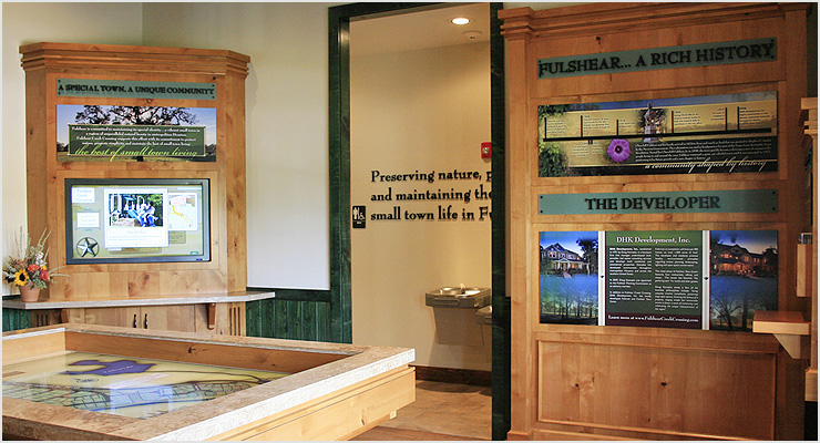 KHov Providence Place Welcome Center Display Designs