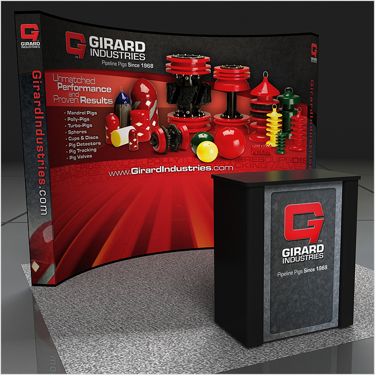 Girard Industries Tradeshow Display Design