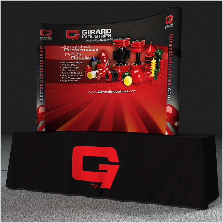 Girard Industries Table Top Tradeshow Display