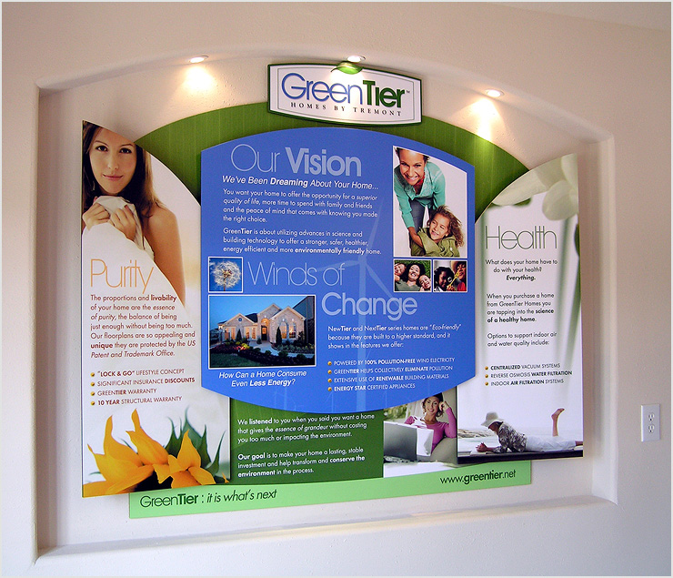Greentier Homes Sales Office Displays