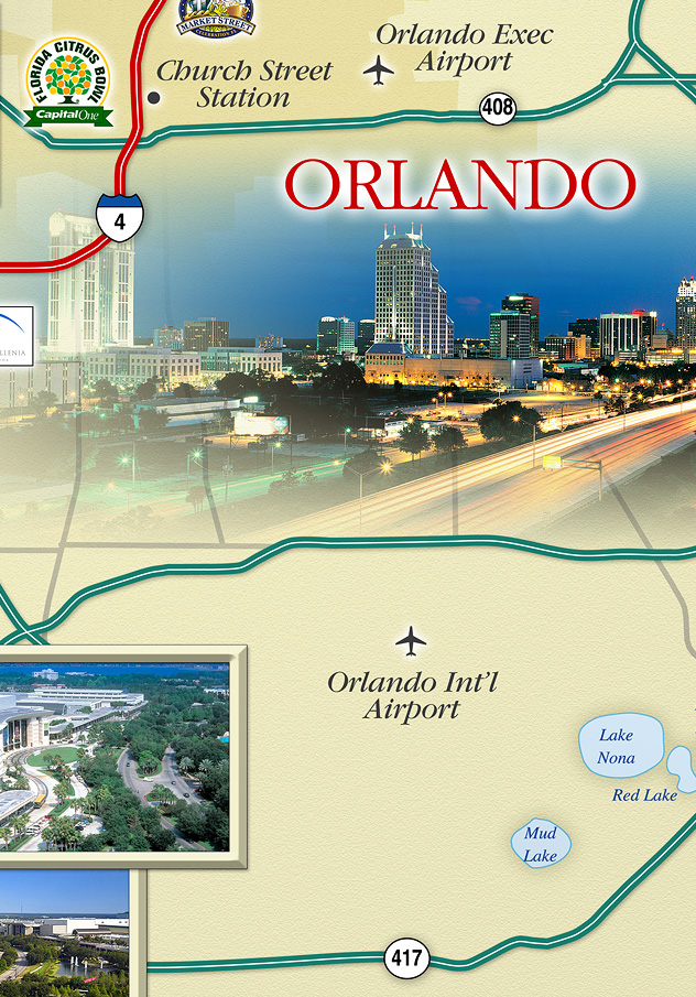 Hilton Orlando Vicinity Map