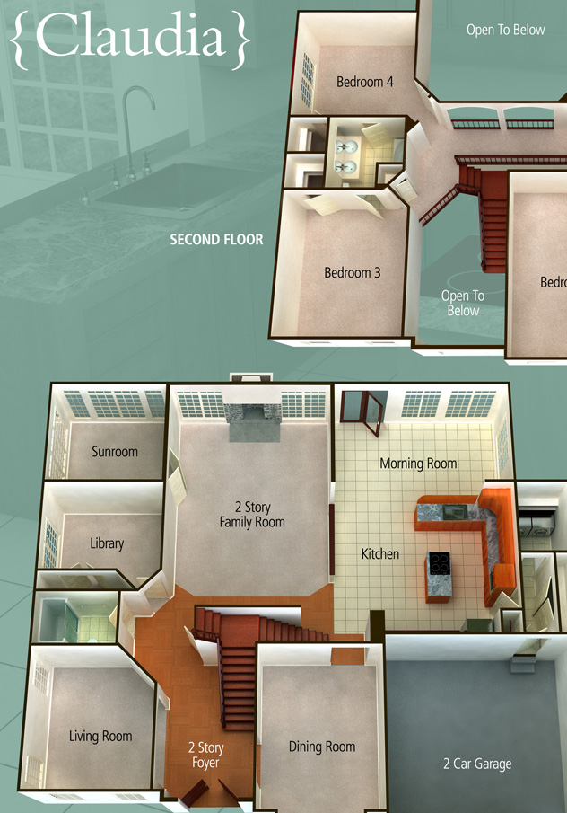 KHov Homes 3D Floorplan