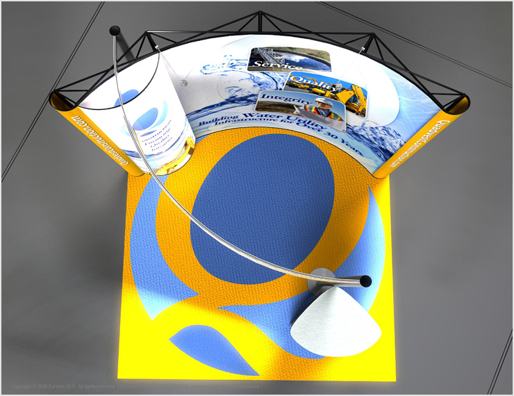 Quadvest Tradeshow Display Design