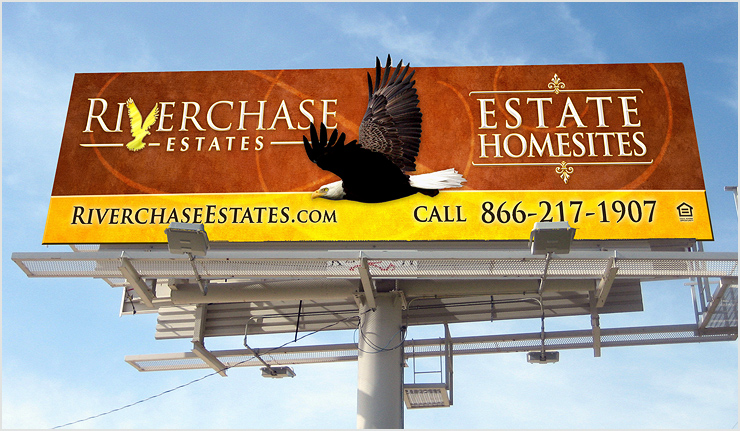 Riverchase Estates Billboard Design