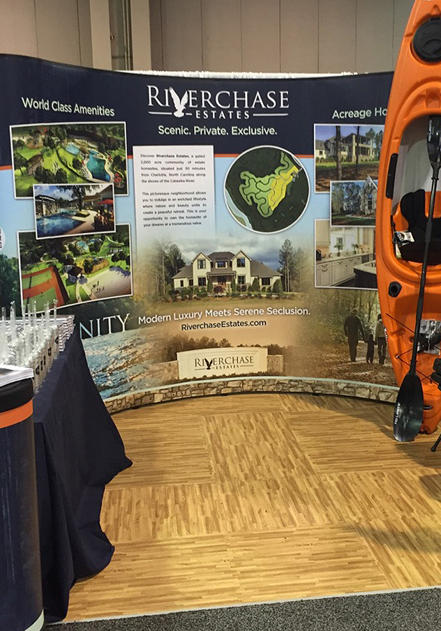 Riverchase Estates Tradeshow Display