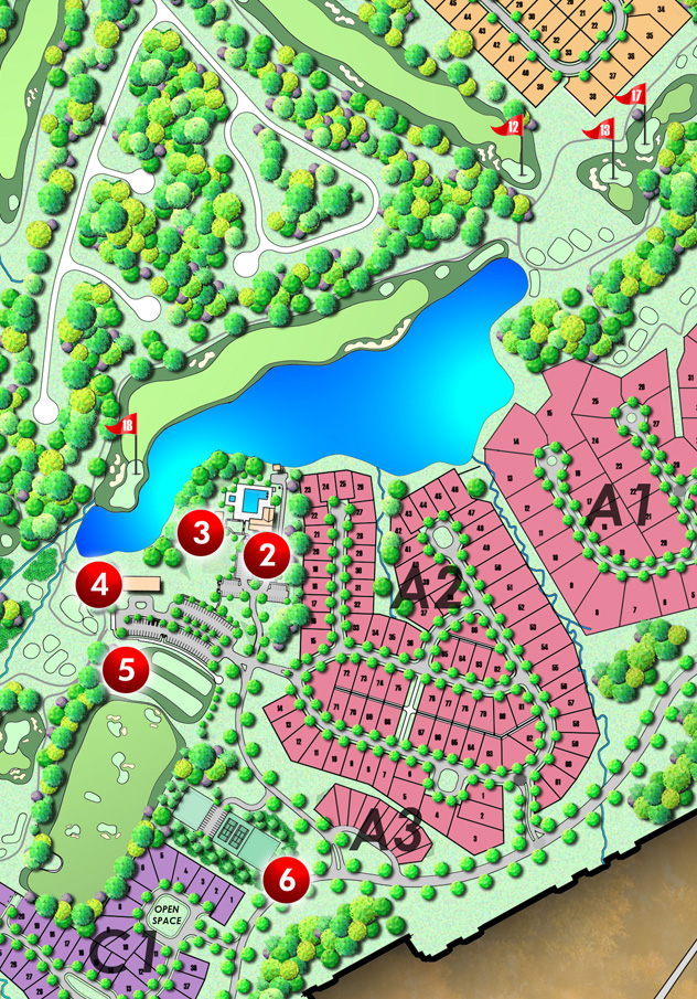 Spring Creek Master Site Plan